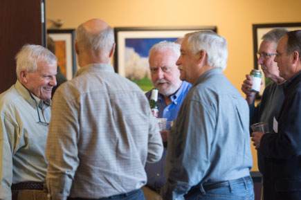 centennial investors membmers mingle at event